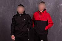 Спортивная куртка анорак Nike, мужская ветровка (4 цвета)