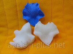 """Вайнер силиконовый """"Лепесток Орхидеи Каттлея"""" 4,2 см 4,5 см"""