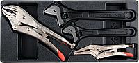 Набор инструментов: плоскогубцы и ключи Yato YT-55444