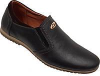 Кожаные мужские спортивные туфли Clarks, качество,синие