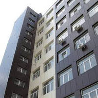 Облицовка фасада здания Днепр (Днепропетровск)