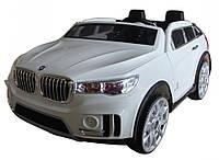 Электромобиль джип двухместный  998  (белый)