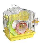 Клетка маленькая №158 для хомячков с американской горкой 23-17-24,5 см