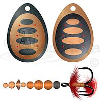Вращающаяся блесна Pontoon 21 Ball Concept Spinner #2.5 B04-003