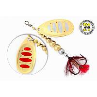 Вращающаяся блесна Pontoon 21 Ball Concept Spinner #2.5 BT01-051