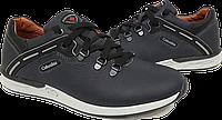Кожаные мужские спортивные туфли Columbia Perfomans, качество,синие