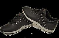 Кожаные мужские спортивные туфли Columbia Perfomans, качество,черные