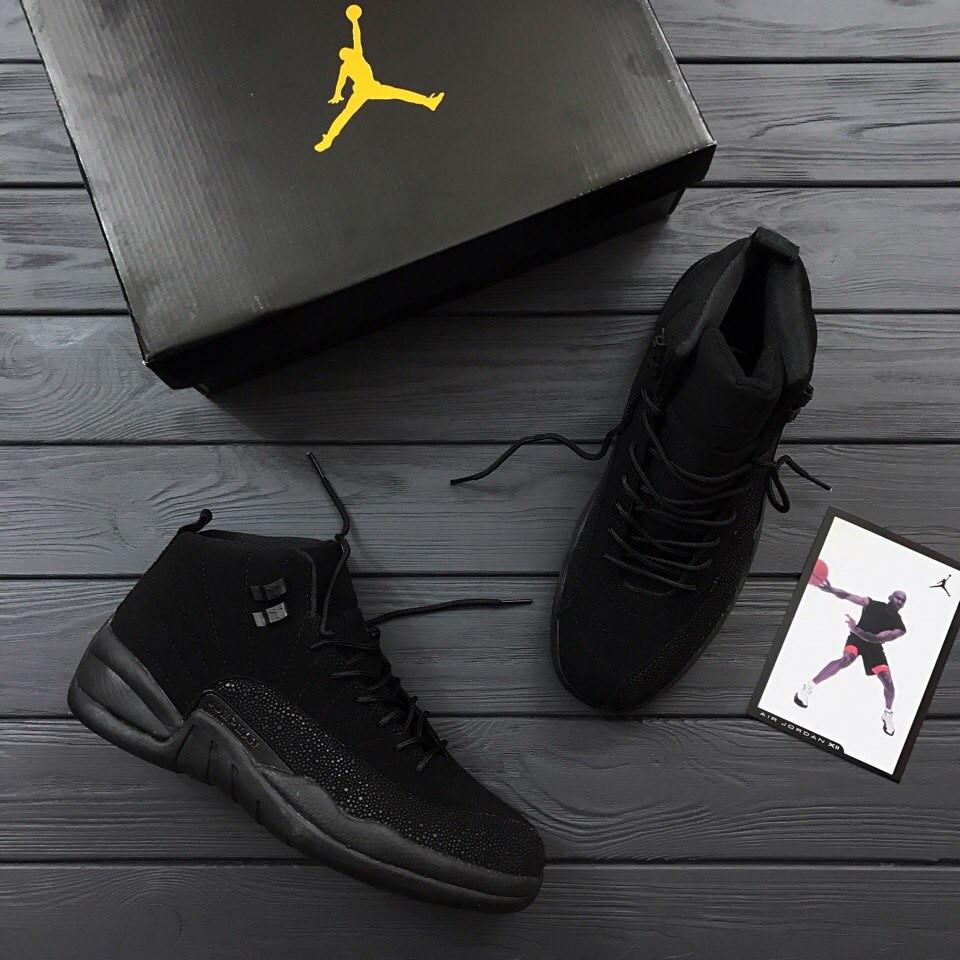 Мужские кроссовки Nike Air Jordan Black