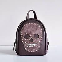 Женский кожаный рюкзак фиолетовый Baby Sport roger