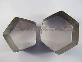 Каттер шестиугольник и пятиугольник для футбольного мяча