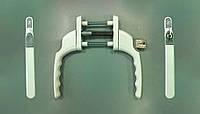 Ручка дверная двухсторонняя Slim-line  английская FAB&FIX с ключём