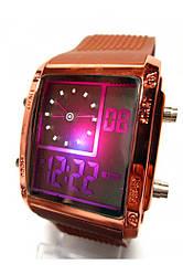 Наручные,спортивные LED  часы 2 цвета