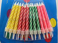 Свечи для торта, 24 шт