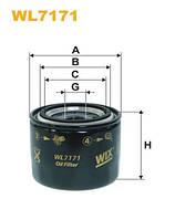 Фильтр масляный WIX WL7171