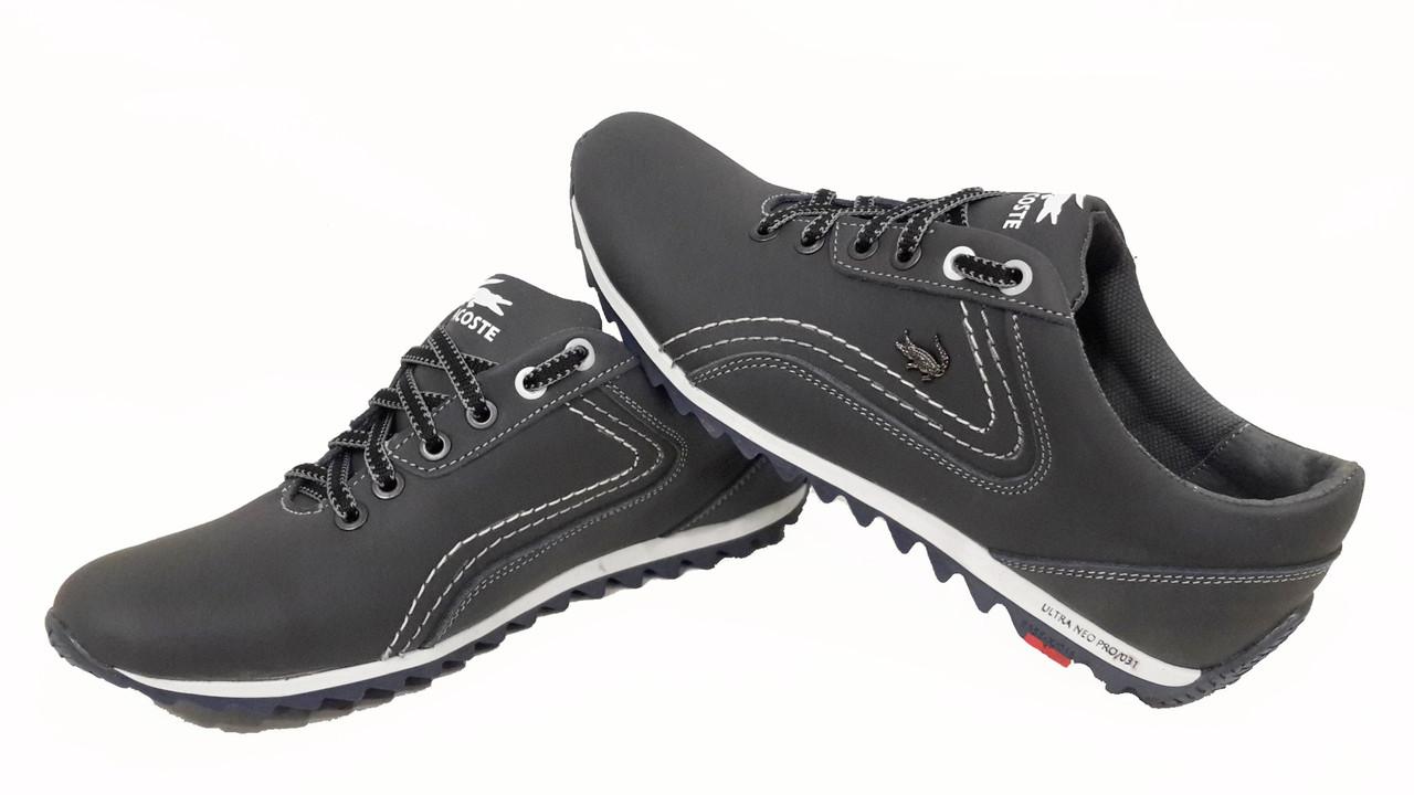 a7b7431dc19a Мужские кожаные кроссовки Lacoste ,синие, качество  продажа, цена в ...