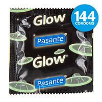Презервативы светящиеся Pasante Glow in the Dark, фото 1