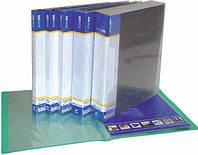 Папка пластикова А4 з файлами 10, зовнішня кишенька, ECONOMIX