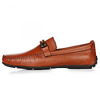 Мокасины мужские Geronimo коричневые кожаные