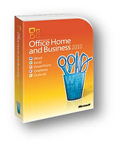 MS Office 2010 Home and Business  32-bit/x64 Russian DVD BOX (T5D-00412)