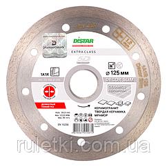 Алмазний диск по плитці Distar 125мм, 22,2 мм Decor Slim