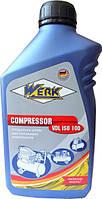 Масло компрессорное WERK COMPRESSOR VDL ISO100  (1 л)