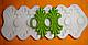 """Молд силиконовый для декора """"Кружево Карен"""" 17 см 7,5 см, фото 2"""