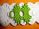 """Молд силиконовый для декора """"Кружево Карен"""" 17 см 7,5 см, фото 3"""