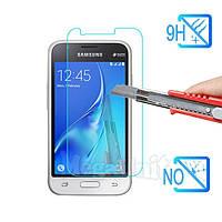 Защитное стекло для экрана Samsung Galaxy J1 mini (j105) твердость 9H, 2.5D (tempered glass)