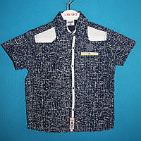 Рубашки wxn 4886.0 для мальчиков 5-8 лет