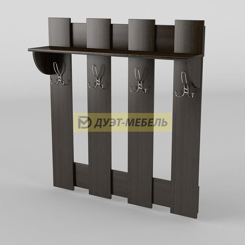 Тиса / Вешалка настенная АКМ-1/2 (1100 мм)