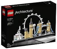 Конструктор Lego Architecture Лондон 21034