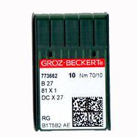 Иглы для промышленных оверлоков B27/81x1/DCx27/DCx1 70 SES Groz-Beckert