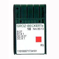 Иглы для промышленных оверлоков B27/81x1/DCx27/DCx1 85 RG Groz-Beckert
