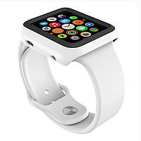 Чехол SPECK CandyShell Fit Case for Apple Watch 42mm, White/Black (SPK-A4147)