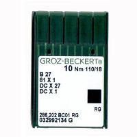Иглы для промышленных оверлоков B27/81x1/DCx27/DCx1 110 RG Groz-Beckert
