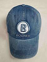 Бейсболка мужская джинсовая оптом BOGNER 57-59 см. КЕПКИ 2017 года купить В Одессе 7 КИЛОМЕТР