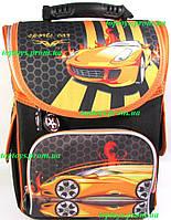 Рюкзак каркасный ортопедический школьный Гонка + подарок