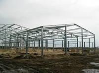 Строительство складов, ангаров, зернохранилищ, навесов. ЛСТК