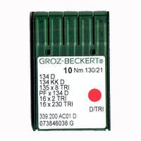 Иглы 134 D/134 KKD/135X8 TRI Groz-Beckert 90 D
