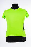 Спортивная футболка женская желтая Cooltex