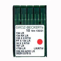 Иглы 134 LR/135X8RTW/PFX134LR Groz-Beckert 130 LR