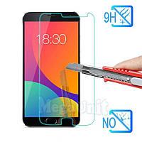 Защитное стекло для экрана Meizu MX6 твердость 9H, 2.5D (tempered glass)