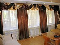 Пошив штор и ламбрекенов