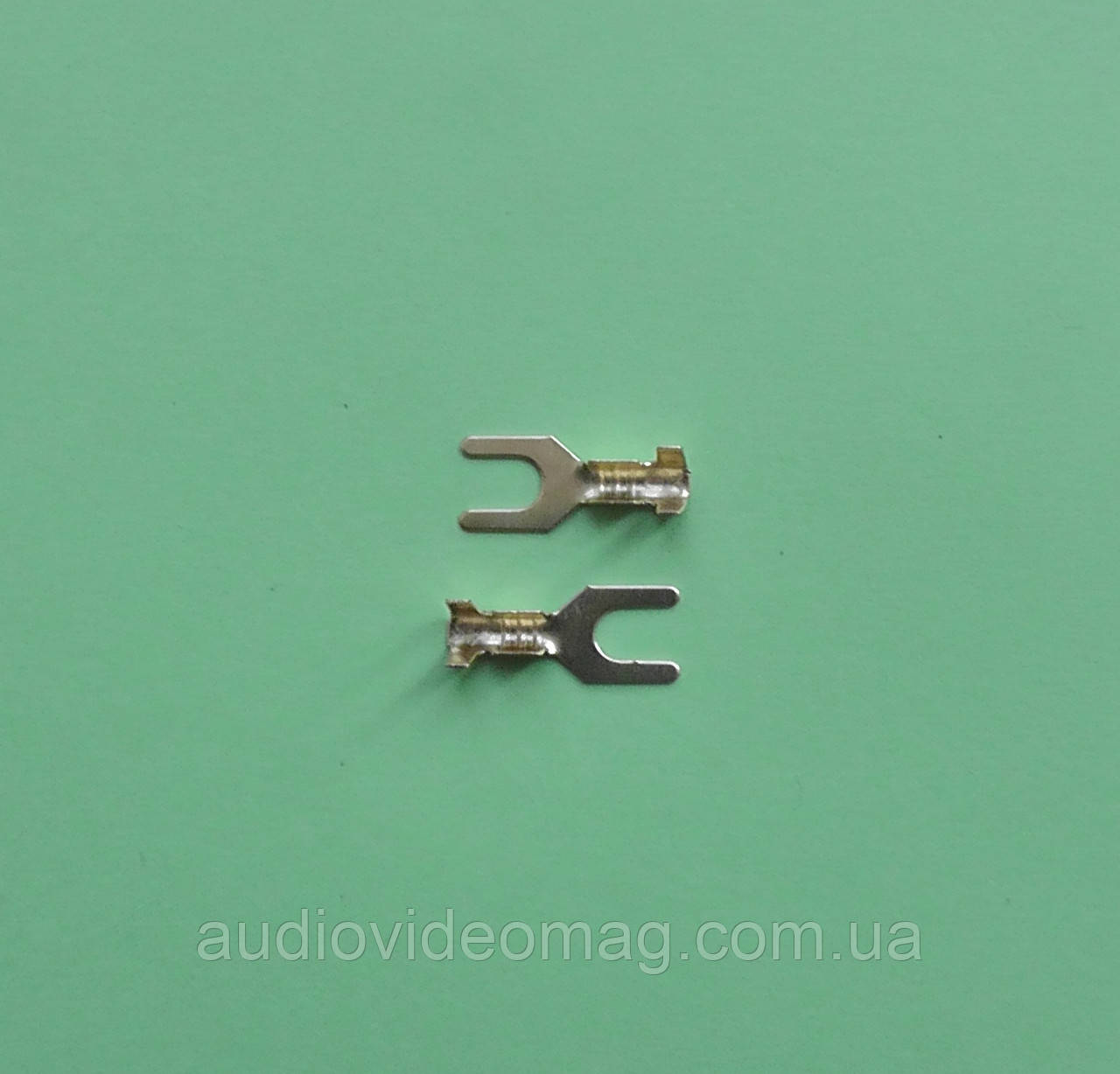 Клемма вилочная под контакт 3 мм , упаковка 50 шт.