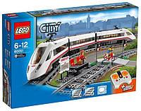 Конструктор LEGO City Скоростной пассажирский поезд 60051
