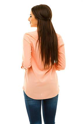 Блузка персик размер 42, фото 2