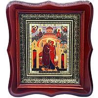 Фигурная икона Зачатие Пресв. Богородицы