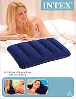 Надувная подушка Intex 43 x 28 x 9 см Синяя 68672, фото 1