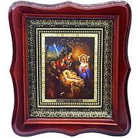 Фигурная икона Рождество Христово