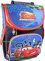 Рюкзак каркасный ортопедический школьный Тачки 95 + подарок
